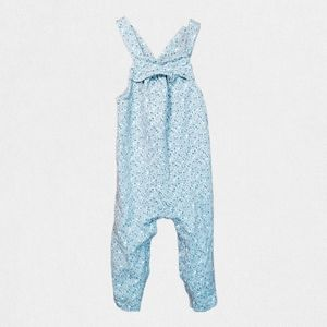 Carter's Floral Overall Jumper with full snap legs